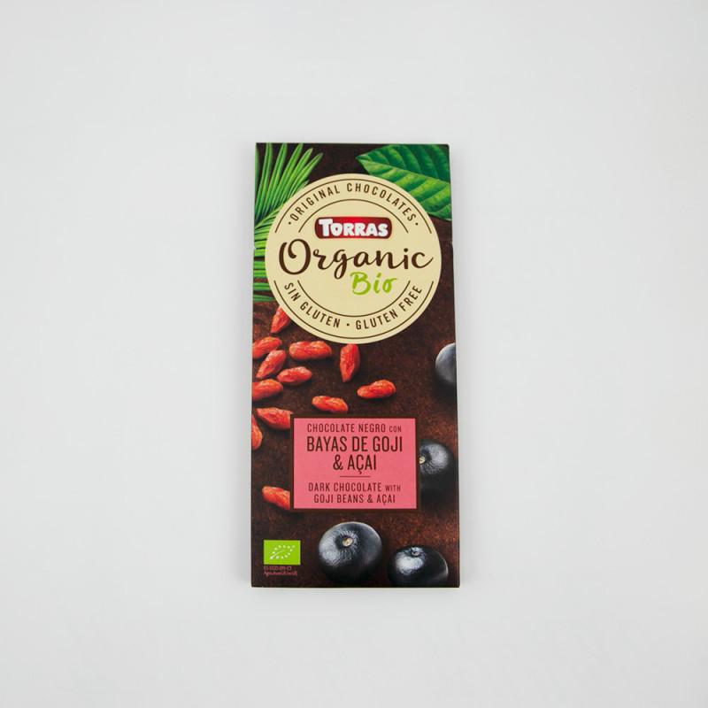 Comprar Chocolate negro con bayas de goji y açai online